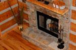 О камине в деревянном доме