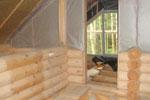 Энергоэффективность дома из бревна
