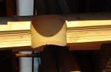 Заготовка сырья для оцилиндрованных бревен