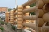 Строительство из оцилиндрованного бревна