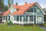 Проект финского дома ФЛ-207