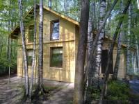 Каркасный дом, 6 x 6 м