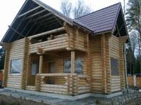 Гостевой дом из бревна