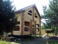 Строительство дома из бревна, Ваганово