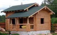 Гостевой дом из бревна, Новотоксово