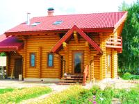Дом из оцилиндрованного бревна, Арх. обл., Кулой