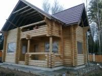 Дом из оцилиндрованного бревна Правдино