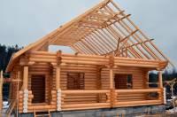 Дом из оцилиндрованного бревна, 26 см