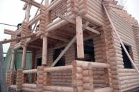 Дом из оцилиндрованного бревна, Володарское