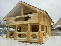 Баня, гостевой дом, ручная рубка