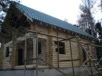 Дом из оцилиндрованного бревна Местерьярви