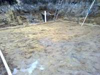 Фундамент плита, цокольный этаж