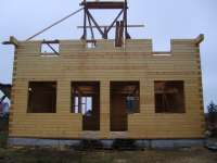 Дом из клееного бруса Красное село