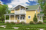 Лахти 130, каркасно-панельный дом 11.55 x 7.10 м