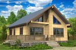 Кеми 100, загородный дом из клееного бруса