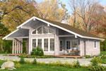 Кеми 119, загородный дом из клееного бруса