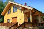Финский дом из клееного бруса